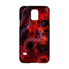 Art Space Abstract Red Line Samsung Galaxy S5 Hardshell Case