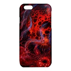 Art Space Abstract Red Line iPhone 6/6S TPU Case