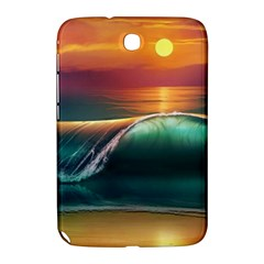 Art Sunset Beach Sea Waves Samsung Galaxy Note 8 0 N5100 Hardshell Case