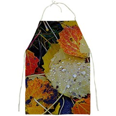 Autumn Rain Yellow Leaves Full Print Aprons