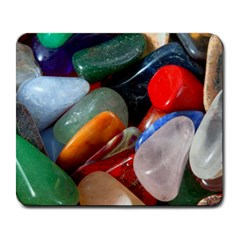 Beautiful Stones In Different Colors Colorful Large Mousepads