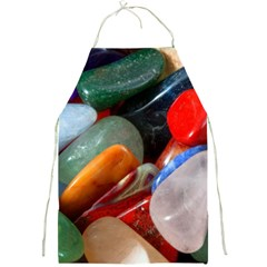 Beautiful Stones In Different Colors Colorful Full Print Aprons
