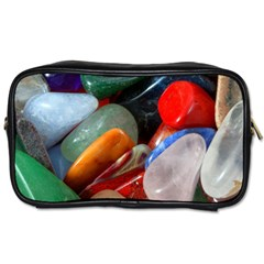 Beautiful Stones In Different Colors Colorful Toiletries Bags 2 Side