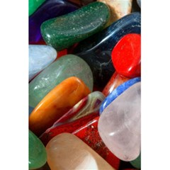 Beautiful Stones In Different Colors Colorful 5 5  X 8 5  Notebooks