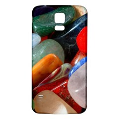 Beautiful Stones In Different Colors Colorful Samsung Galaxy S5 Back Case (white)