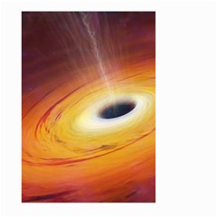 Black Hole Large Garden Flag (two Sides)