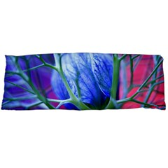 Blue Flowers With Thorns Body Pillow Case Dakimakura (two Sides)