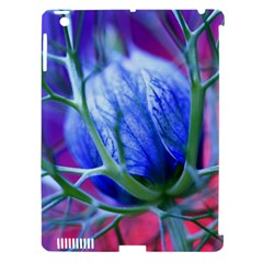 Blue Flowers With Thorns Apple Ipad 3/4 Hardshell Case (compatible With Smart Cover)