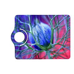Blue Flowers With Thorns Kindle Fire Hd (2013) Flip 360 Case