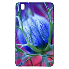 Blue Flowers With Thorns Samsung Galaxy Tab Pro 8 4 Hardshell Case