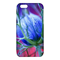 Blue Flowers With Thorns iPhone 6/6S TPU Case