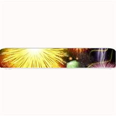 Celebration Colorful Fireworks Beautiful Small Bar Mats