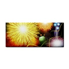 Celebration Colorful Fireworks Beautiful Cosmetic Storage Cases