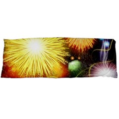 Celebration Colorful Fireworks Beautiful Body Pillow Case Dakimakura (two Sides)