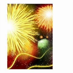 Celebration Colorful Fireworks Beautiful Small Garden Flag (two Sides)