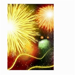 Celebration Colorful Fireworks Beautiful Large Garden Flag (two Sides)