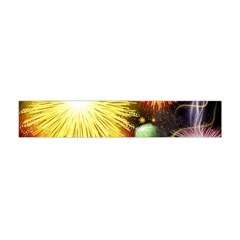 Celebration Colorful Fireworks Beautiful Flano Scarf (Mini)