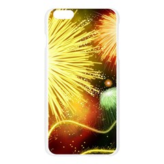 Celebration Colorful Fireworks Beautiful Apple Seamless iPhone 6 Plus/6S Plus Case (Transparent)
