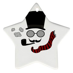 Invisible man Star Ornament (Two Sides)
