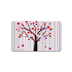 Valentine s day tree Magnet (Name Card)