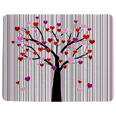 Valentine s day tree Jigsaw Puzzle Photo Stand (Rectangular)