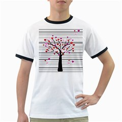 Love tree Ringer T-Shirts