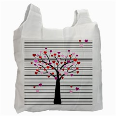 Love tree Recycle Bag (Two Side)