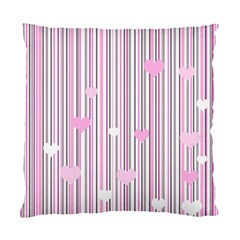 Pink love Standard Cushion Case (Two Sides)
