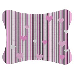 Pink love Jigsaw Puzzle Photo Stand (Bow)