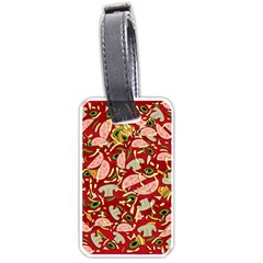 Pizza pattern Luggage Tags (One Side)