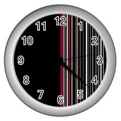 Elegant style Wall Clocks (Silver)
