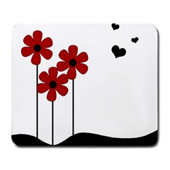 Flowers Large Mousepads