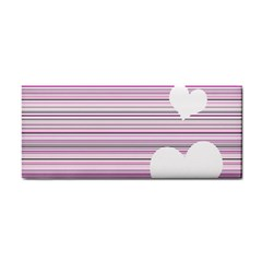Pink Valentines day design Cosmetic Storage Cases