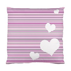 Pink Valentines day design Standard Cushion Case (Two Sides)