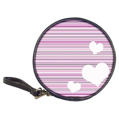 Pink Valentines day design Classic 20-CD Wallets