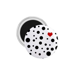 Dots and hart 1.75  Magnets