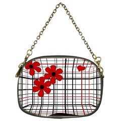 Cute floral desing Chain Purses (One Side)