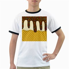 Ice cream zoom Ringer T-Shirts
