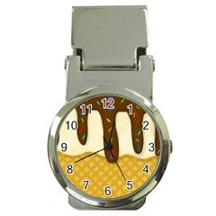 Ice cream zoom Money Clip Watches