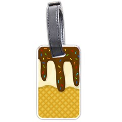 Ice cream zoom Luggage Tags (One Side)