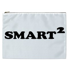 Smarted Conceptual Typographic Design Cosmetic Bag (xxl)