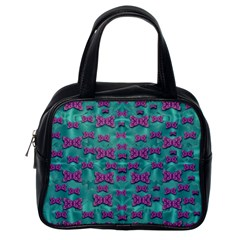 Peace And Freedom Over The Sea Of Softness Classic Handbags (one Side)