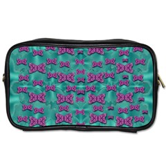 Peace And Freedom Over The Sea Of Softness Toiletries Bags 2 Side