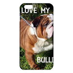 Bulldog Red And White Love W Pic iPhone 6 Plus/6S Plus TPU Case