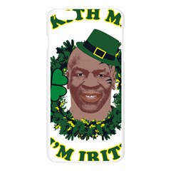 Kith Me I m Irith, Mike Tyson St Patrick s Day Design Apple Seamless iPhone 6 Plus/6S Plus Case (Transparent)