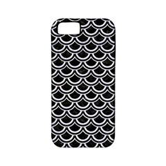 Scales2 Black Marble & White Marble Apple Iphone 5 Classic Hardshell Case (pc+silicone)