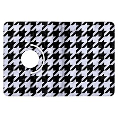 Houndstooth1 Black Marble & White Marble Kindle Fire Hdx Flip 360 Case
