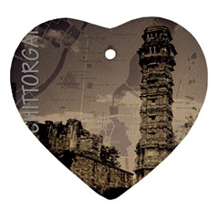 Chittorgarh Heart Ornament (two Sides)