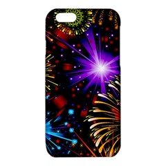 Celebration Fireworks In Red Blue Yellow And Green Color iPhone 6/6S TPU Case