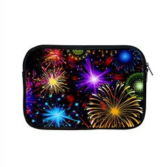 Celebration Fireworks In Red Blue Yellow And Green Color Apple Macbook Pro 15  Zipper Case